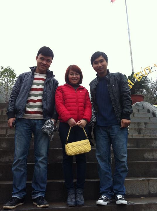 Đại Xuân - Hoa héo- Tuấn đẹp giai =)) chụp tại đền thờ Chu Văn An